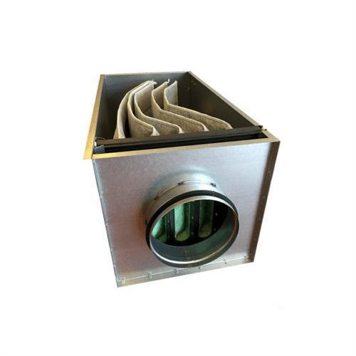 Filterboks Kulfilter F7 | Ø160 mm